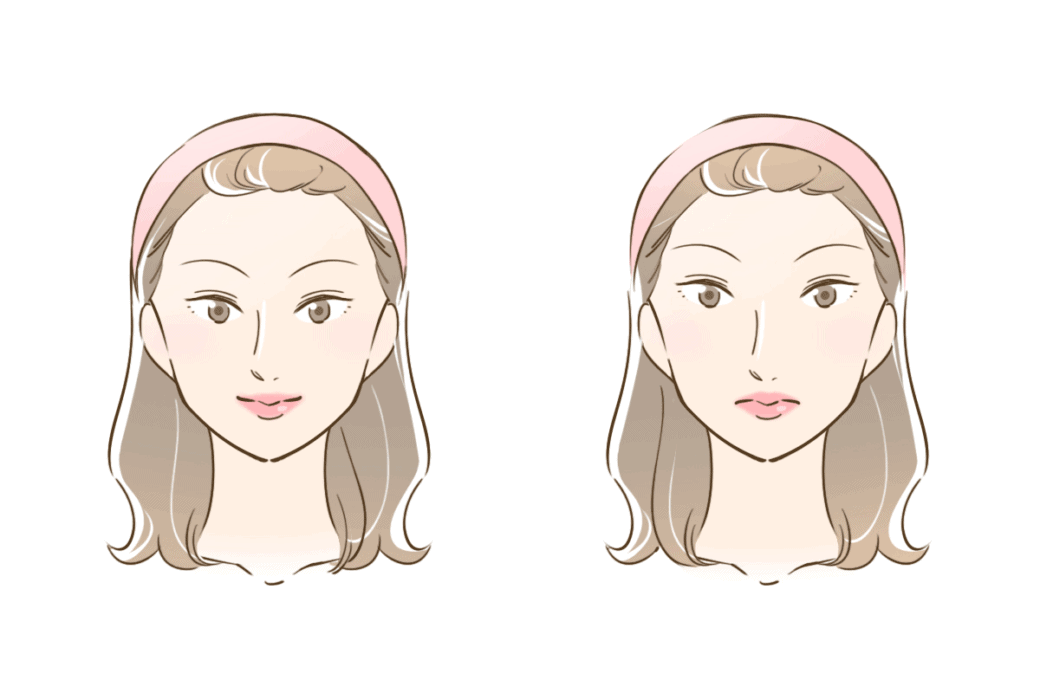 美人 と 不美人の違い
