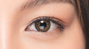 目の形が違うだけで印象が変わるイメージ